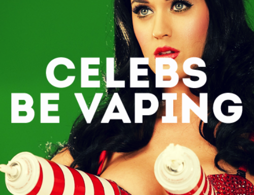 Celebrities Vaping in Hollywood
