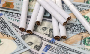 a concept of smoking costs